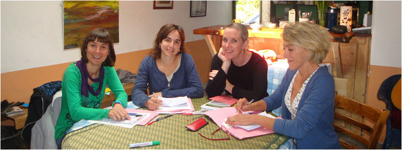 Adult students at the Connemara English Language School